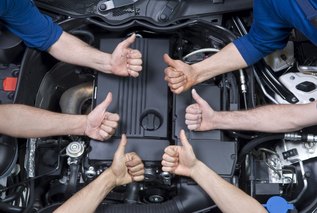 Highly qualified automotive service experts