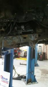 under car